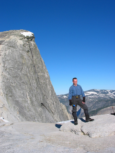 David at the Base of Half Dome pic2