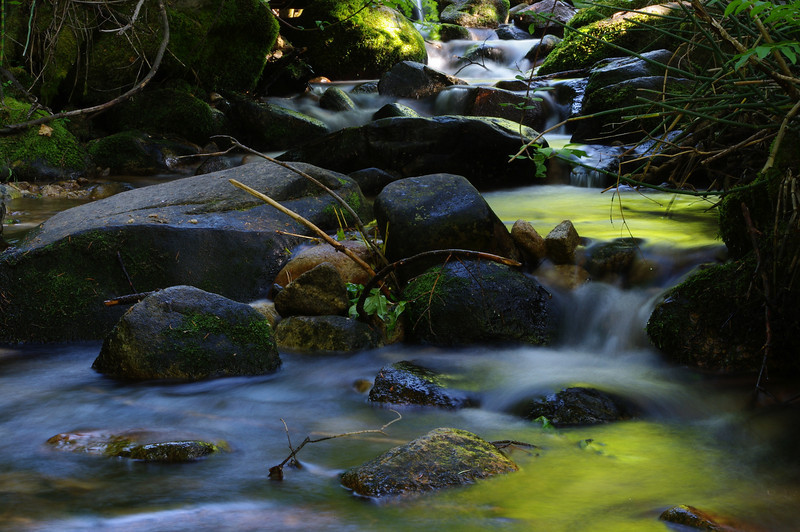 Got the tripod in the creek for this shot.  Taken at 10 Mile creek near Idaho City