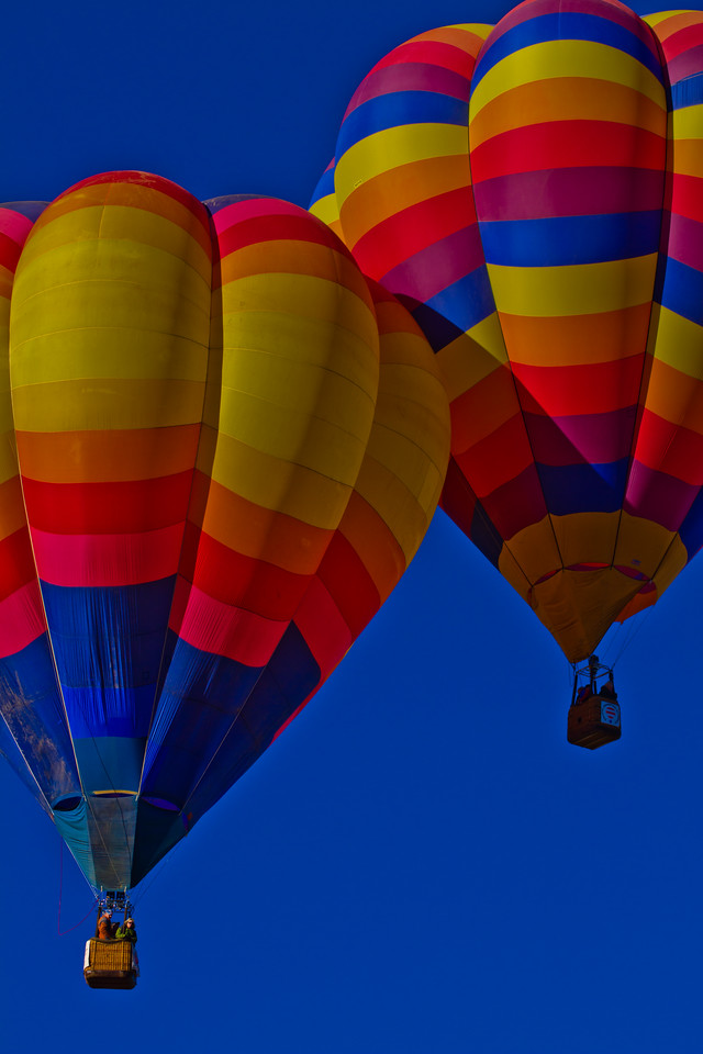 Hot Air Balloon rally, Taos, NM, 2010