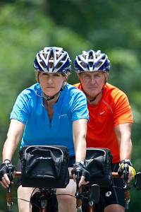 Rob and Kim Richer on the CIA Memorial Ride to raise funds for the families of fallen CIA Officers.