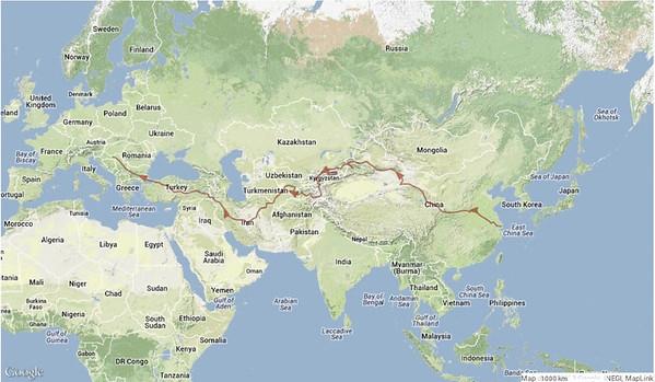 Bycicle - Google Zemljevidi