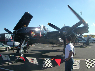Airplanes don't get much cooler than this F7F tigercat.