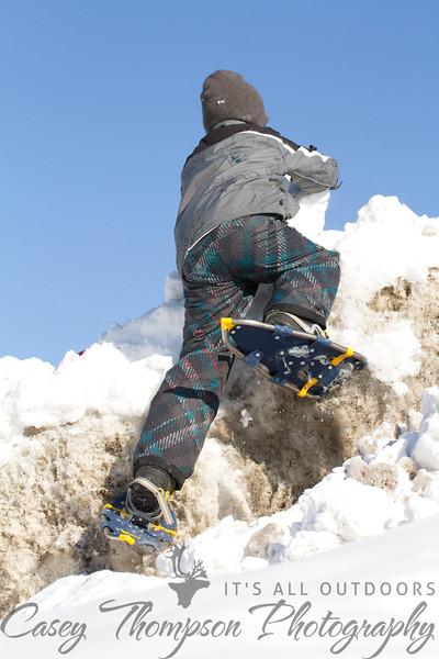 Brendan Climbing Ice Berg 3-16-12-5036