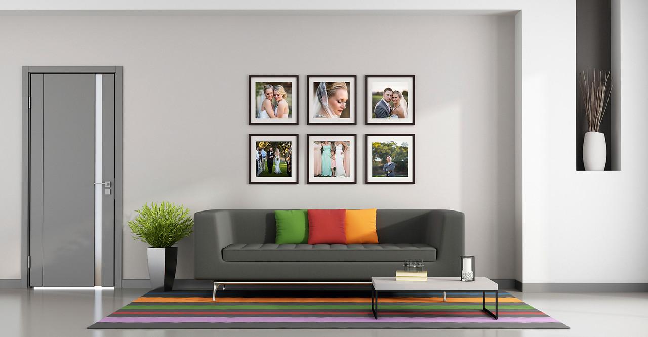 Bright contemporary living room