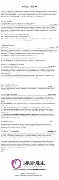 2020 Price Guide 350