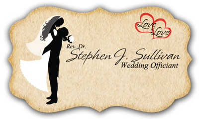 Officiant Business Card FRONT