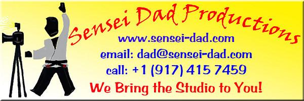Sensei Dad Smugmug Banner