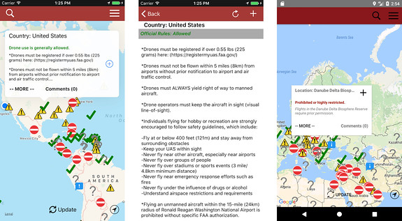dronemate android app
