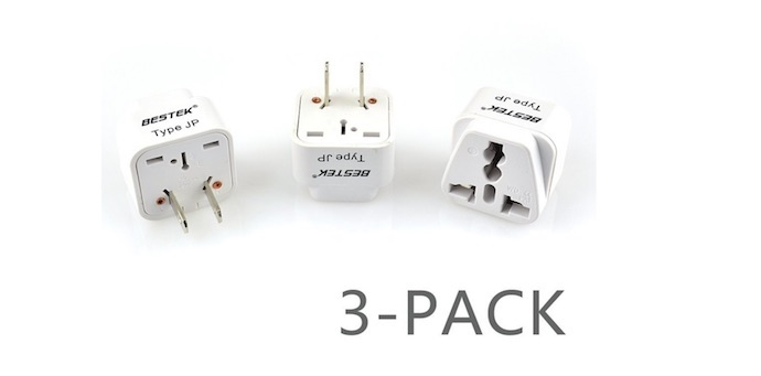 besttek travel plug adapter set