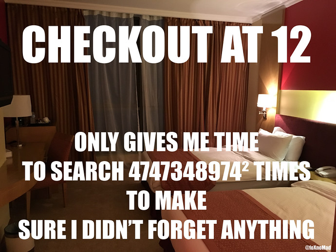 hotel meme