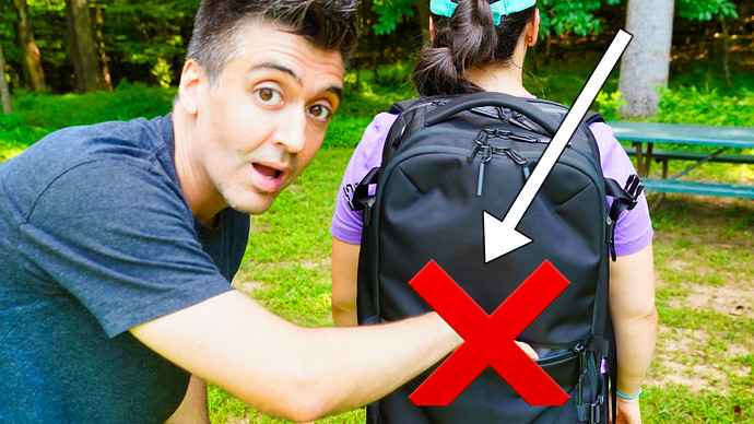 Use This Backpack Zipper Trick To Stop Pickpockets