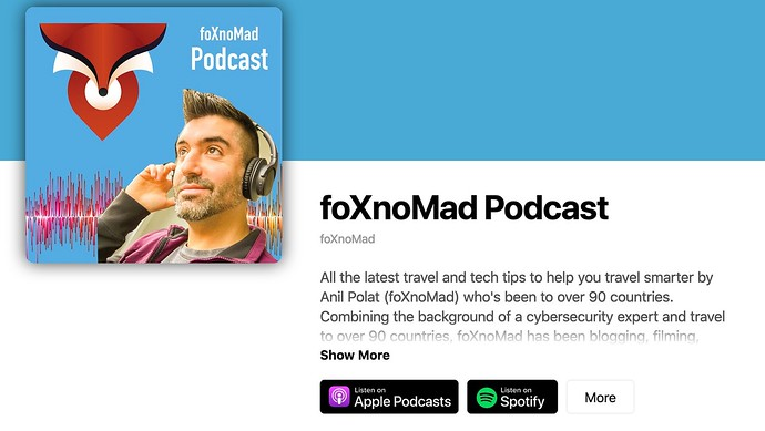 In-Depth Travel And Tech: The foXnoMad Podcast Is Ready For Your Next Trip