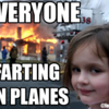 farting on planes