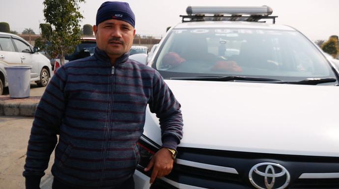 budhiman india car driver