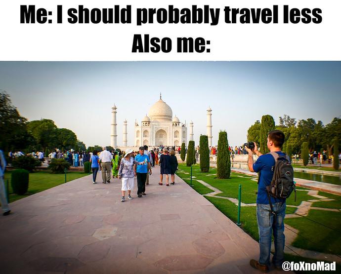 traveling meme