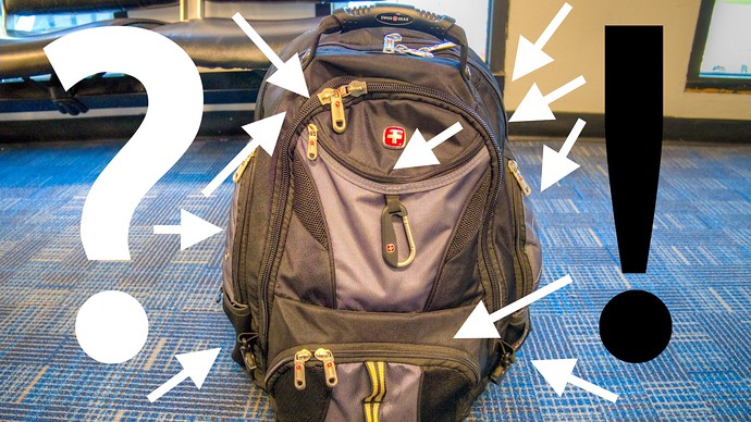 SwissGear Scansmart 1900 Backpack Review: Lots Of Pockets For Little Gadgets