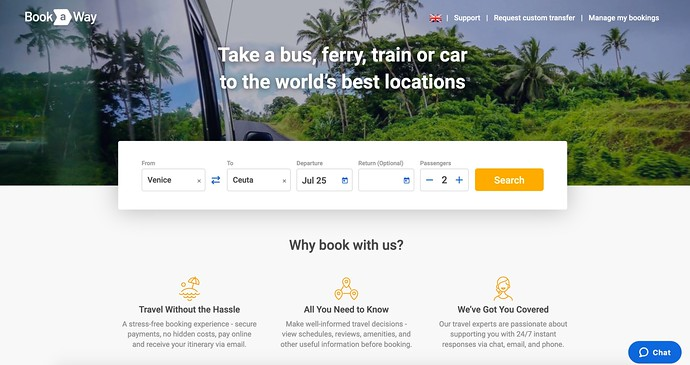 Bookaway Is A Travel Search Engine For Ground Transportation