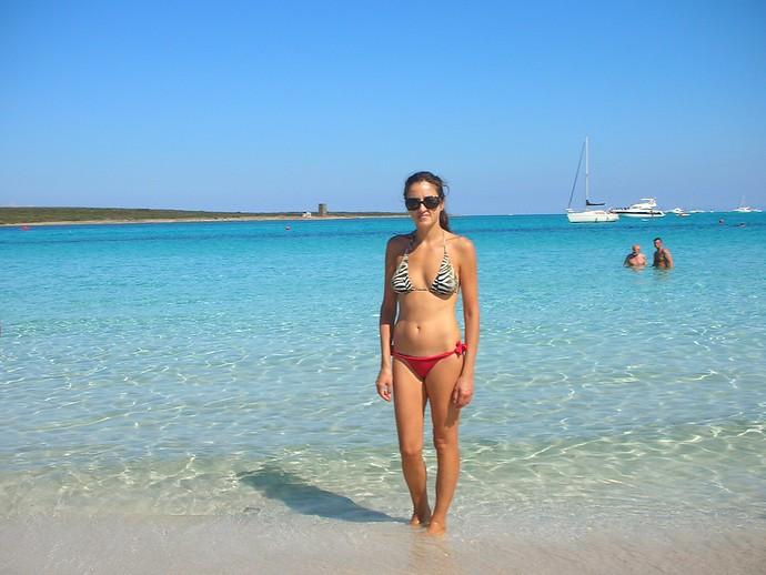 la pelosa beach sardinia