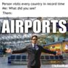 airports meme