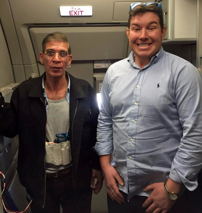 hijacker selfie