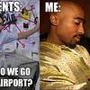 parents airport meme