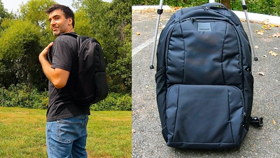 PacSafe's LS450 Backpack Is Ultra-Secure And Pretty Useable Too