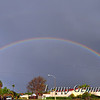 12/22/2010 @ 15:50 - The rains begin to move out, leaving a beautiful double-rainbow over San Diego.
