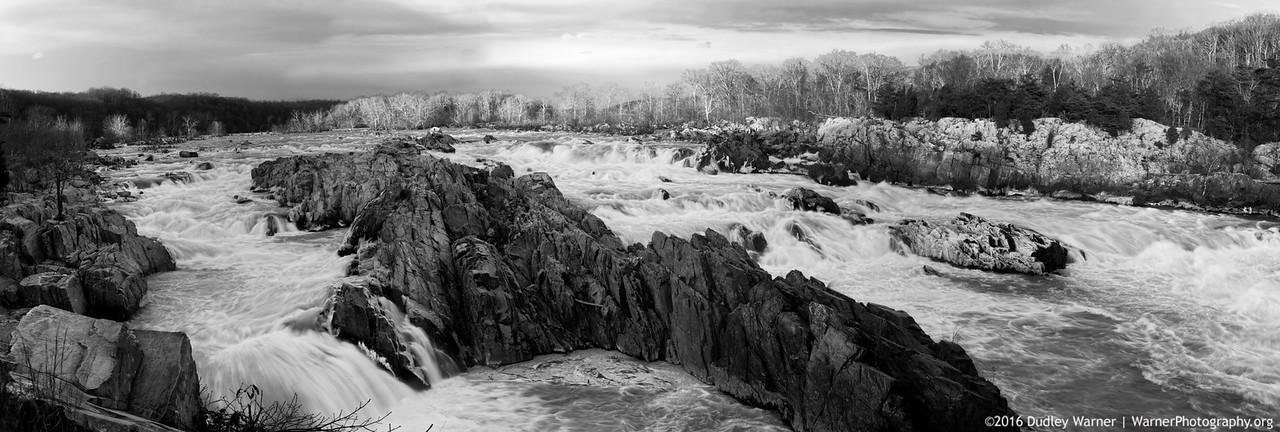 Great Falls VA Rapids Panorama copy