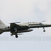 Republic of Singapore Air Force F-5T Tiger II 850/77-0359 in 149 Sqn markings lands at Paya Lebar