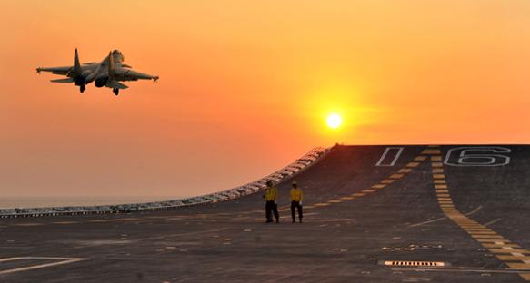 plan_j15_liaoning_sunset