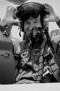 F-16 Crew Chief  2001-2006.     USAF Pilot 2007-Present