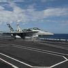 111211-N-DR144-397 <br /> PACIFIC OCEAN (Dec. 11, 2011) An F/A-18C Hornet assigned to Strike Fighter Squadron (VFA) 113 launches from the flight deck of the Nimitz-class aircraft carrier USS Carl Vinson (CVN 70). Carl Vinson and Carrier Air Wing (CVW) 17 are underway on a western Pacific deployment. (U.S. Navy photo by Mass Communication Specialist 2nd Class James R. Evans/Released)