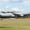 The KC-30A lands for the first time on Australian soil at its new home, RAAF Base Amberley.<br /> <br /> The KC-30A Multi Role Tanker Transport (MRTT) aircraft arrived at RAAF Base Amberley, Queensland on 30 May 2011 after departing Madrid, Spain on Friday 27 May. <br /> <br /> The arrival of the first aircraft, A39-003, at RAAF Amberley follows an extensive development and test program by Airbus military in Spain for the world's most advanced tanker aircraft.