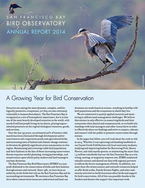 San Francisco Bay Bird Observatory
