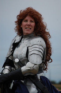 Lady Knight in Armour