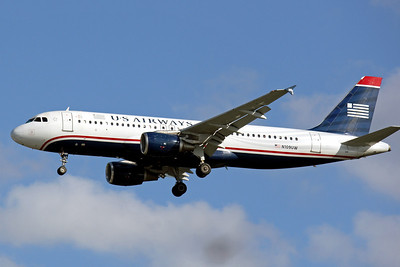 USAirways, N109UW, Airbus a320-214, msn 1065, TPA, Photo by John A. Miller, TPA, Image T043LAJM