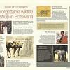 Aardvark Safaris Drumbeat Newsletter Interview