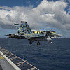 111211-N-DR144-399 <br /> PACIFIC OCEAN (Dec. 11, 2011) An F/A-18C Hornet assigned to Strike Fighter Squadron (VFA) 113 launches from the flight deck of Nimitz-class aircraft carrier USS Carl Vinson (CVN 70). Carl Vinson and Carrier Air Wing (CVW) 17 are underway on a western Pacific deployment. (U.S. Navy photo by Mass Communication Specialist 2nd Class James R. Evans/Released)