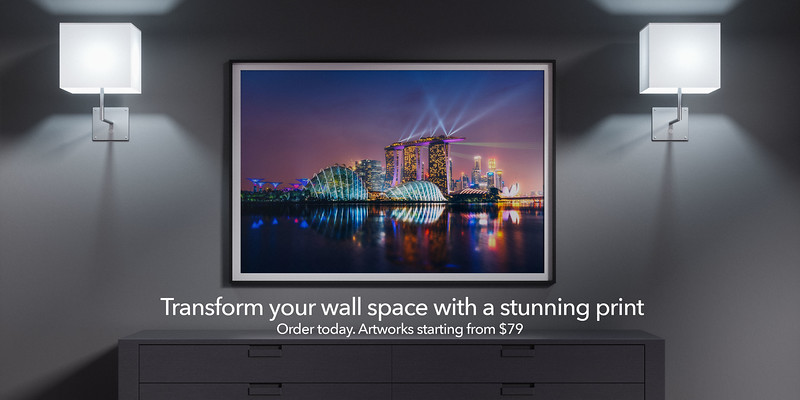 Transform your wall space with a stunning print