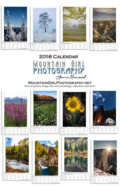 2018 Calendar Ad