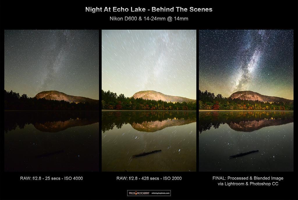 Night at Echo Lake BTS