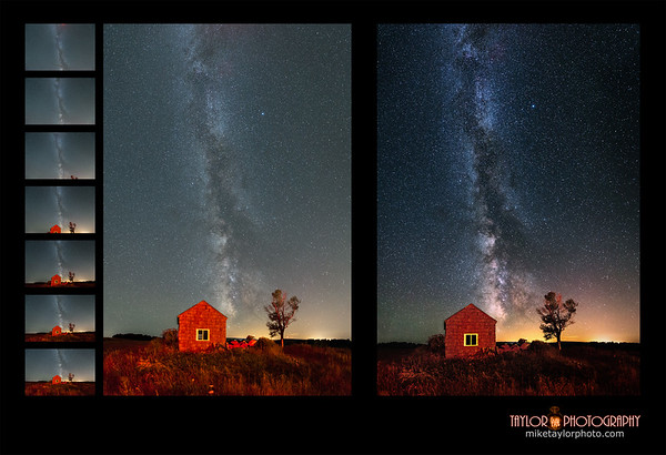 Red House 7 Image Vertical Panorama - Behind The Scenes Editing