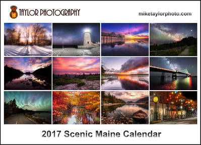2017 Scenic Maine Calendar COVER for SM