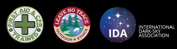 CPR & LEAVE NO TRACE & IDA BADGES CROP