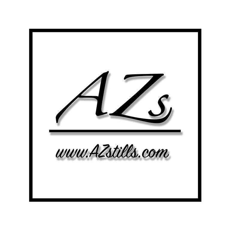 AZs Logo White