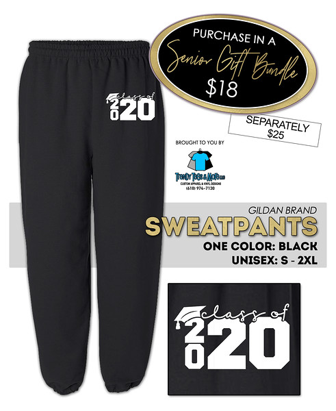 Senior Class of 2020 sweatpants (1)