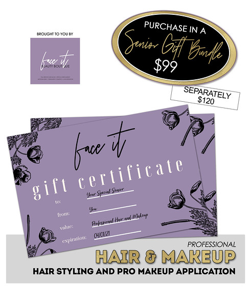 face it pro hair and makeup