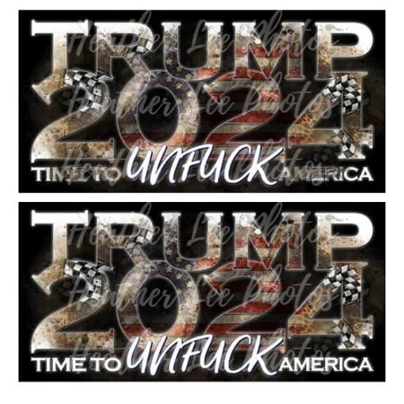 Trump 2024 UNFUCK America 12x16