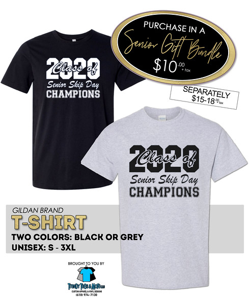 Senior Class of 2020 tshirts