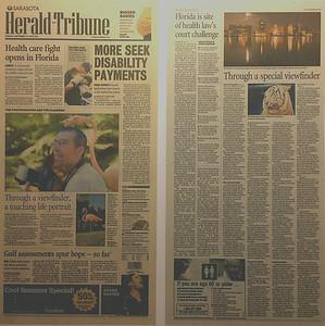 Sarasota Herald Tribune Tuesday September 14, 2010